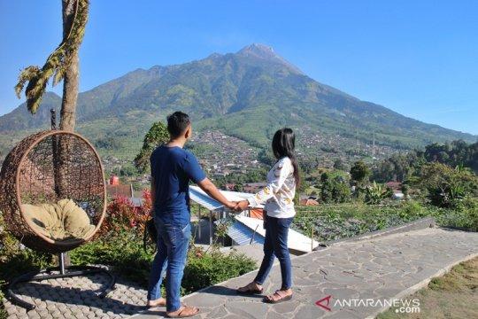Merapi Garden Samiran Boyolali dikunjungi banyak turis asing