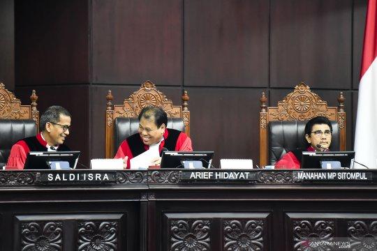 Sidang Pileg, MK nilai gugatan Perindo tidak jelas