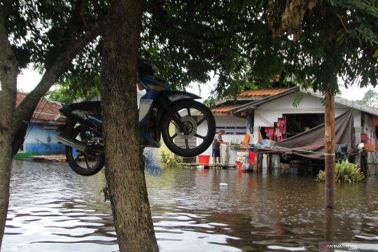 Banjir di Konawe mulai surut