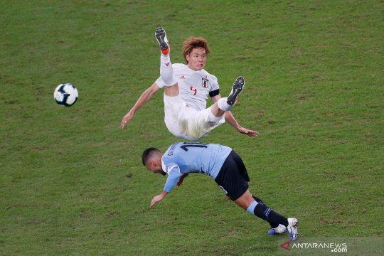 Copa America : Uruguay bermain imbang dengan Jepang