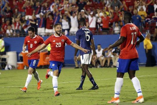 Kosta Rika tundukkan Bermuda untuk amankan tiket perempat final