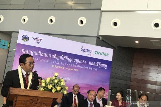 Penerbangan Jakarta-Phnom Penh diharapkan dongkrak wisman Kamboja
