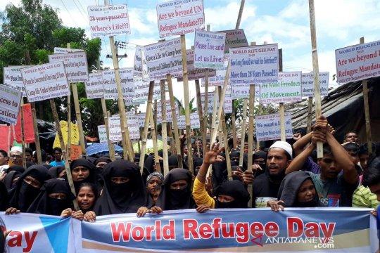 Menlu Retno dan Utusan PBB bahas keamanan repatriasi Rohingya