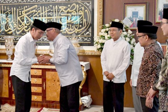 Putra Ketua MA berpulang, Presiden takziah ke rumah duka