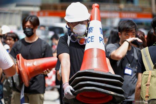 Gelombang baru protes berlangsung di Hong Kong