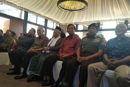 Hendropriyono gelar halalbihalal dengan purnawirawan TNI