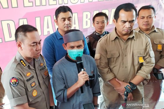 Polda Jabar tetapkan Rahmat Baequni sebagai tersangka kasus hoaks