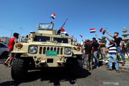 Protes berlanjut di Kota Sadr, Irak, saat masuki pekan kedua
