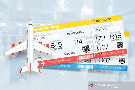 Harga tiket pesawat naik, tingkat hunian hotel menurun