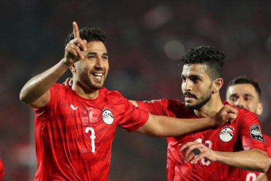 Mesir awali Piala Afrika dengan kemenangan tipis atas Zimbabwe