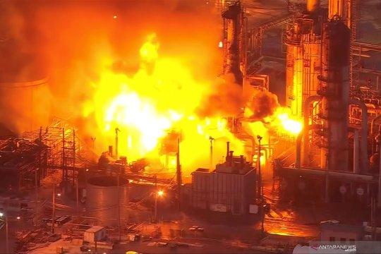 Ledakan dan kebakaran kilang di Philadelphia