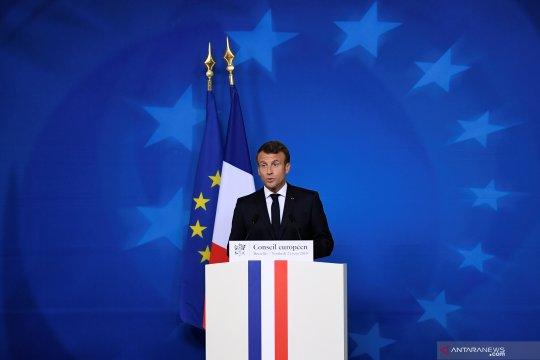 Prancis bantah laporan bahwa Macron undang Rouhani untuk KTT G7