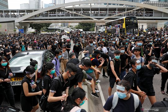 China tidak izinkan KTT G20 bahas isu Hong Kong