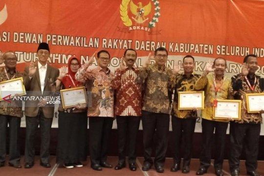 DPRD Siak peroleh penghargaan dari Presiden Jokowi