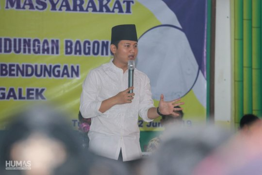 Warga proyek Bendungan Bagong dipastikan dapat kompensasi plus