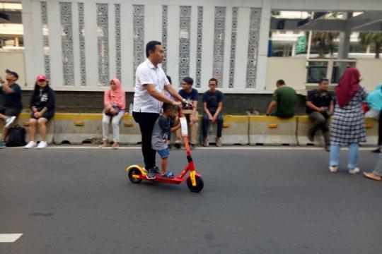 DKI siapkan regulasi penggunaan skuter-sepeda listrik