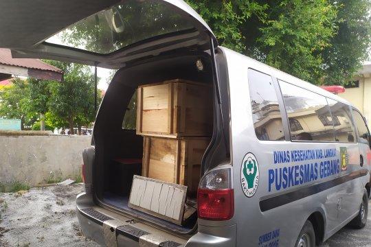 15 peti janazah untuk korban kebakaran tiba di RS Bhayangkara Medan