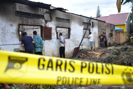 Pemerintah segera periksa izin pabrik macis yang terbakar di Langkat