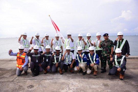 Jajaran komisaris PP tinjau proyek Tangki Timbun Pulau Nipa