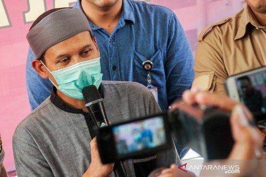 Penetapan tersangka kasus dugaan penyebaran hoaks Rahmat Baequni