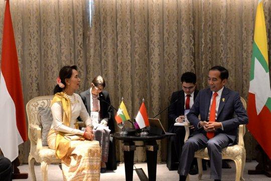 Bertemu Suu Kyi, Presiden harap repatriasi di Rakhine State aman