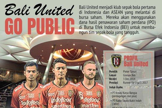 Bali United masuk bursa