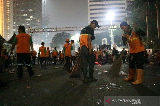 Kecamatan Menteng kerahkan 131 petugas kebersihan saat HUT Jakarta