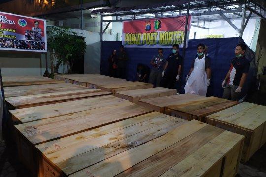 19 jenazah kebakaran pabrik mancis sudah teridentifikasi