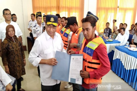 Menhub jamin tidak ada batasan penerbitan sertifikasi nelayan