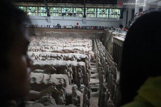 Prajurit Terakota Xi'an ternyata punya kemiripan dengan Borobudur