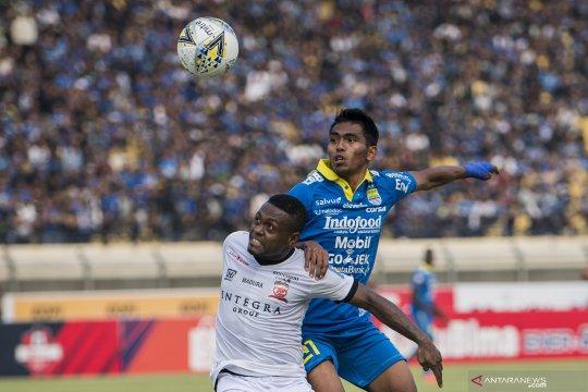 Madura United gagal kudeta puncak klasemen meski tahan imbang Persib