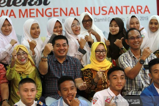 Calon peserta jalani seleksi Siswa Mengenal Nusantara di Gorontalo