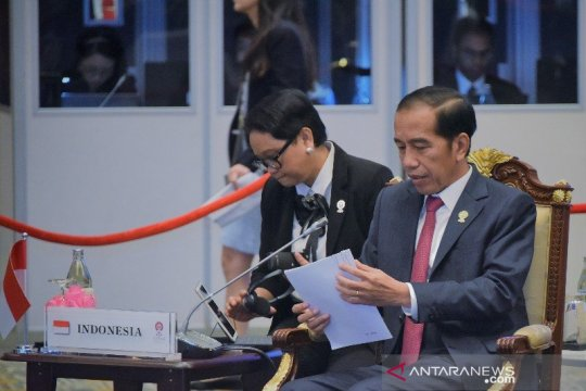 Presiden tekankan isu Rakhine State di sesi Retreat KTT ASEAN