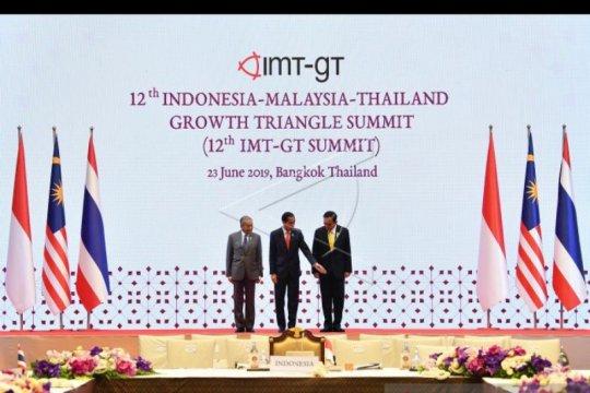 Jokowi: kerja sama IMT-GT fokus pada tiga hal