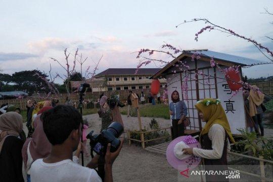 Kampung wisata ala Jepang di Mataram dibanjiri pengunjung