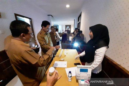 BNN tes urine Gubernur Kepri dan Kepala OPD