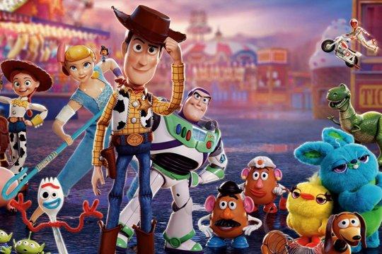 """""""Toy Story 4"""" nomor satu di box office dengan 118 juta dolar"""