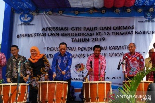 Wagub Babel buka Apresiasi GTK PAUD se-Indonesia