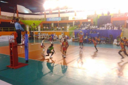 Putri Indonesia ungguli Korut dalam Asian Peace Cup