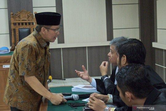 JPU tuntut Taufik Kurniawan delapan tahun penjara