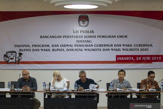 Uji publik rancangan PKPU Pilkada 2020