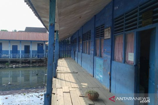 Gedung SD di Palembang banyak kurang layak