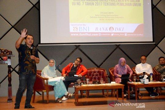Penerapan ambang batas parlemen untuk kepentingan bangsa