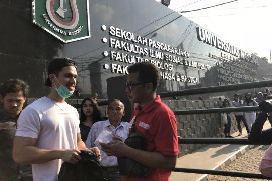 Polres Metro Jakarta Selatan gelar operasi cipkon P4GN di UNAS