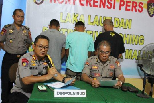 Polisi tetapkan tiga tersangka bom ikan di Malut