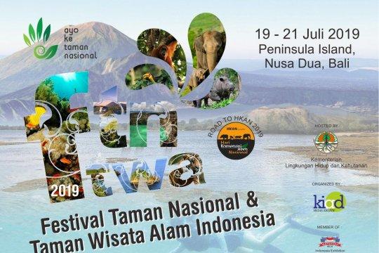Festival Taman Nasional Wisata Alam 2019 bakal digelar di Pulau Dewata
