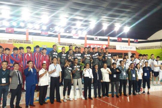 Tim putra Indonesia juara Asian Peace Cup