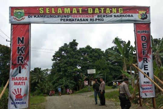 Binmas Polda Papua gagas Kampung Bersinar di perbatasan RI-PNG