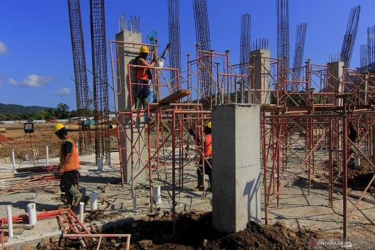 Kejari Biak kawal pengerjaan proyek infrastruktur PON Papua