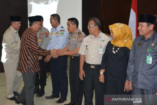 Embarkasi Padang berangkatkan 18 kloter haji pada 2019